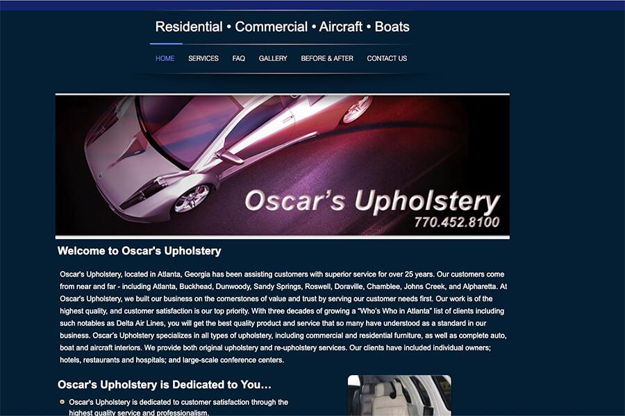 Oscar's Upholstery