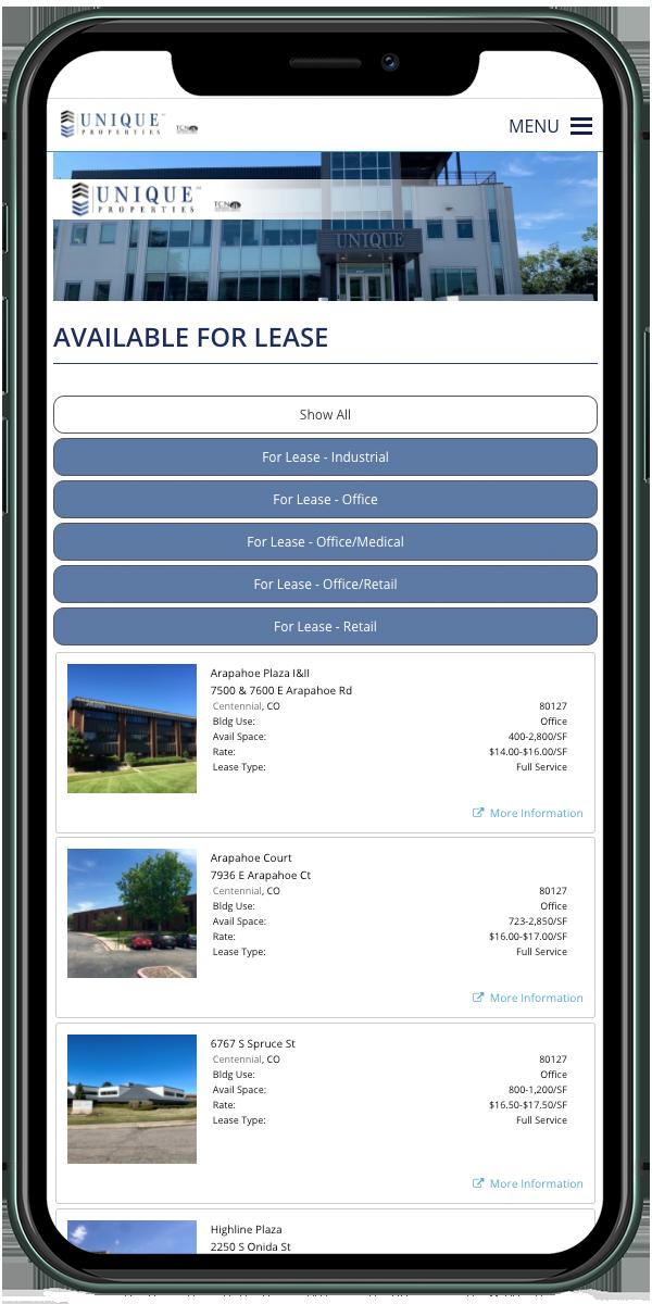Real Estate Sales & Leasing<hr>Denver, CO