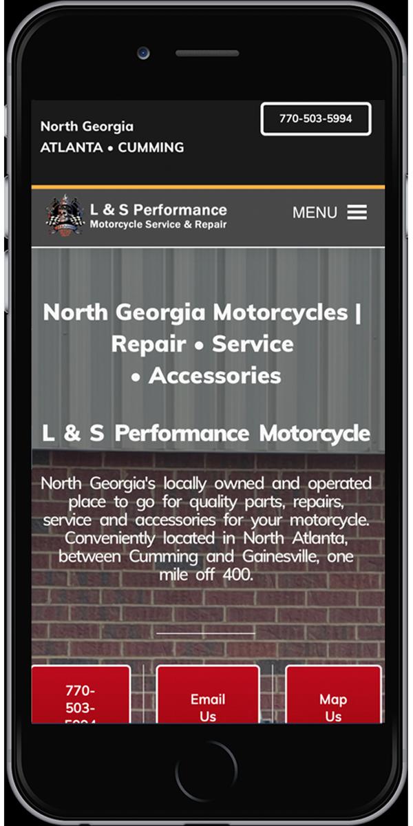 Motorcycle Repair Shop<hr>Cumming, GA