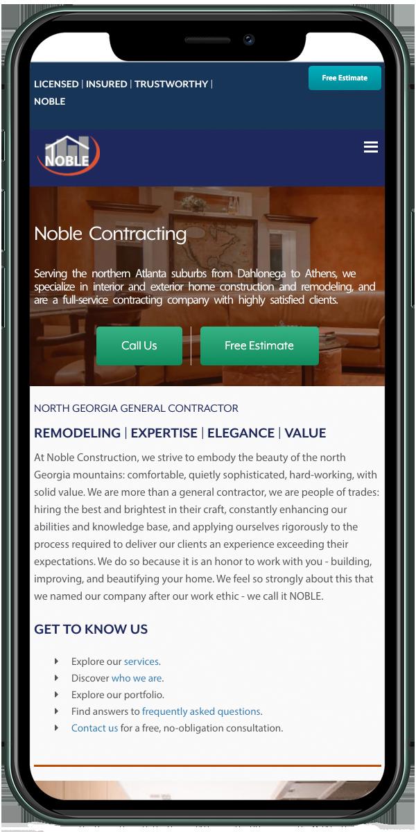 Custom Home Builder & Contractor<hr>North Georgia