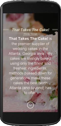Atlanta's Finest Wedding Cakes